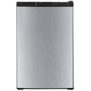 """Impecca RC-1446SL 20"""" Energy Star Rated Freestanding Compact Refrigerator with 4.4 cu. ft. Capacity Total  Can Rack  and 2 Adjustable Glass Shelves  in"""