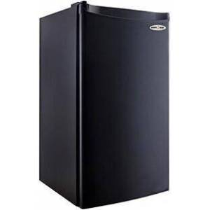MicroFridge 3.2SM4RA Snackmate Series Freestanding 3.2 Cu. Ft. Compact Refrigerator with Digital Thermostat  Defrost Timer  CanStor Beverage Storage  and 2 Full