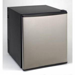 """Avanti SHP1712SDCIS 17"""" Superconductor Compact Refrigerator with 1.7 cu. ft. Capacity  Adjustable Shelves  Tall Bottle Rack  and Interior Light in Black"""