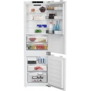 """Blomberg BRFB1052FFBIN 22"""" Built-in Bottom Freezer Refrigerator with 8 cu. ft. Capacity  Duo Cycle Frost Free Cooling  LED Lighting and Automatic Ice Machine"""
