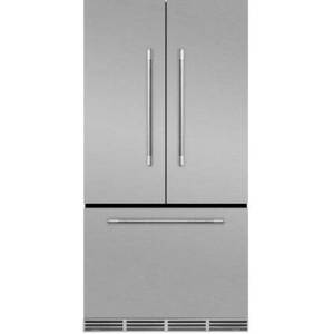"""AGA MMCFDR23SS 36"""" Mercury  Counter Depth French Door Refrigerator With Storage Drawer  22.2 cu. ft. total capacity  12 Temperature Settings  Adjustable"""