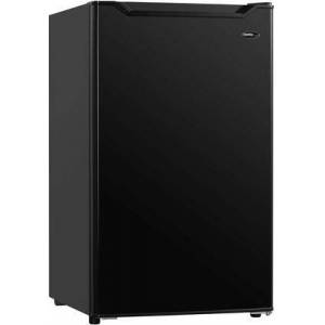 """Danby DAR032B1BM 19"""" Compact Refrigerator with 3.2 cu. ft. Capacity  Automatic Defrost  Glass Shelves and Mechanical Thermostat in"""