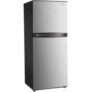 "Impecca RA-2120SLG 24"" Top Freezer Refrigerator with 11.6 cu. ft. Total Capacity  LED Lighting  Reversible Doors  Electronic Controls  in Stainless"