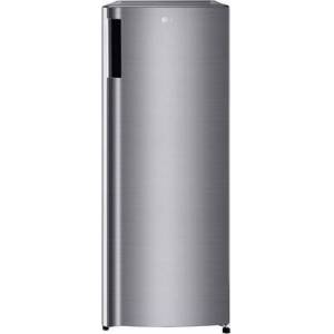 """LG LRONC0705V 21"""" Single Door Refrigerator with 6.89 cu. ft. Capacity  Freezer Compartment  Semi Auto Defrost and Tempered Glass Shelves in Platinum"""