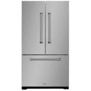 """AGA AMPROFD23SS 36"""" Professional French Door Refrigerator with 22.2 cu. ft. Capacity  Dual level Organization System  Filtration System  Adjustable Glass"""