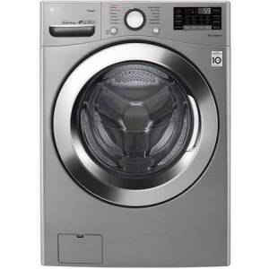 """LG WM3700HVA 27"""" Energy Star Front Load Washer with 4.5 cu. ft. Capacity  Wi-Fi Connectivity  12 Wash Programs  and Works with Google  in Graphite"""