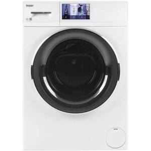 """HAIER QFW150SSNWW 24"""" Frontload Washer with 2.4 cu. ft. Capacity  16 Cycles  Electronic Controls  Built-In Wi-Fi Connect  in"""