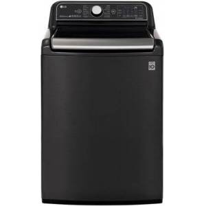 """LG WT7900HBA 27"""" Top Load Washer with 5.4 cu. ft. Capacity  Turbo Wash Steam  Wi-Fi Enabled  in Black"""