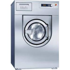"""Miele PW6207S 37"""" Commercial Washer Extractor With 45 Lbs. Load Capacity  1100 RPM High Speed Spin  Freely Programmable  And Stainless Steel Front in"""
