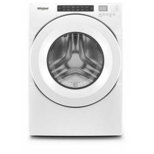 """Whirlpool WFW560CHW 27"""" Closet Depth Washer with 4.3 cu. ft. Capacity  14 Cycles  6 Options  4 Temperatures  and 1200 RPM  in"""