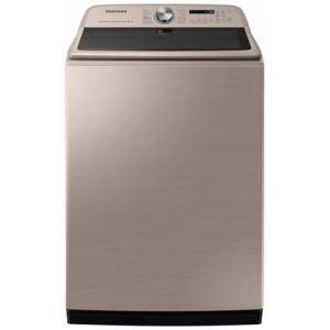 """Samsung WA54R7600AC 28"""" Top Load Washer with 5.4 cu. ft. Capacity  Active Water Jet  Steam Sanitize and Super Speed in"""