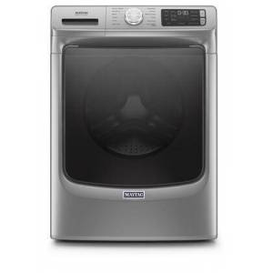 """Maytag MHW6630HC 27"""" Washer with 4.8 cu. ft. Capacity  12 Cycles  Extra Power Button  1160 RPM and Sanitize Cycle in Metallic"""