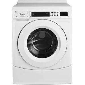 """Whirlpool CHW9160GW 27"""" Commercial High Efficiency Energy Star Qualified Frontload Washer  in"""