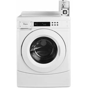 """Whirlpool CHW9150GW 27"""" Commercial Frontload Washer  Energy Star Qualified  in"""