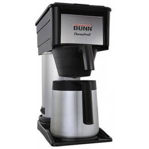 Bunn-O-Matic 38200.0017 10 Cup Velocity Brew BT Thermal With Internal Hot Water Tank  Bunn-engineered Sprayhead  Double Wall Vacuum Insulated  in