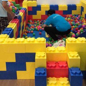 DHgate large epp building blocks paradise bubble super large children's castle indoor assembly foam partition wall children playground