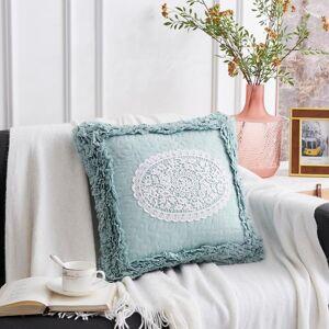 DHgate sofa cushion stool pad lace laciness lacework decorative living room couch cojines decorativos bordados cuscini sedie