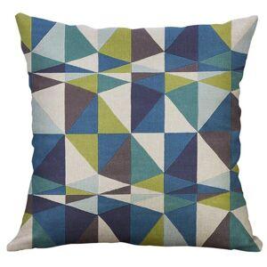 DHgate irregular geometric pattern print cotton linen nonwoven cushion cover pillow sofa 60*60cm l605 cushion/decorative