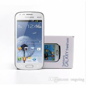DHgate unlocked samsung galaxy trend duos ii s7572 s7562i 2g smart phone 4.0 inch screen android4.1 wifi gps dhloriginal unlocked samsung galaxy s