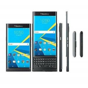DHgate refurbished original blackberry priv unlocked cell phone ram 3gb rom 32gb 5.4 inch 18mp 4g lte