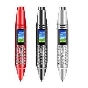 """DHgate 6 in 1 multifunction ak007 pen mini cellphone 0.96"""" tiny screen gsm dual sim camera flashlight bluetooth dialer mobile phones with reco"""