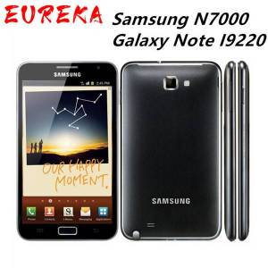DHgate n7000 original samsung n7000 galaxy note i9220 8mp 1gb ram+16gb rom 3g wcdma 2500mah refurbished unlocked cellphone