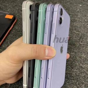 """DHgate 2020 original refurbished unlocked iphone xr in iphone 12 housing 6.1"""" hexa-core ram 3gb rom 64gb/128gb without face"""