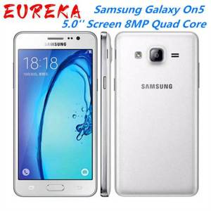 DHgate samsung galaxy on5 g5500 4g lte android mobile phone dual sim 5.0'' screen 8mp quad core good selling