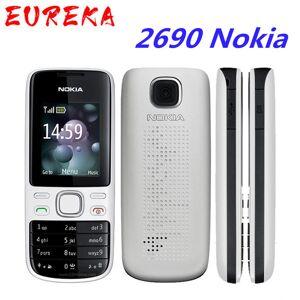 DHgate 2690 nokia original unlocked 2690 mobile phones internal 3mb gsm sms mms email bar cellphones refurbished