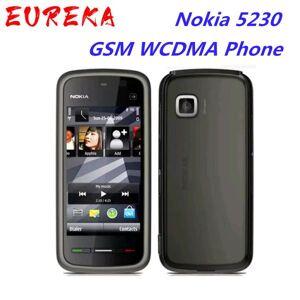 DHgate original unlocked nokia 5230 100% original unlocked nokia 5230 wcdma 3g fm bluetooth cell phone refurbished