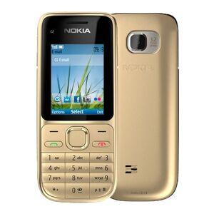 DHgate refurbished original nokia c2-01 unlocked cell phone 2.0inch screen 3.2mp camera bar 2g gsm 3g wcdma