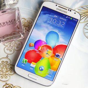 DHgate original samsung galaxy s4 i9500 unlocked 13mp camera 5.0 inch 2gb+16gb android 4.2 quad core smartphone 3g wcdma refurbished phones