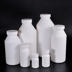 DHgate 1pcs thicken ptfe plastic bottle multipurpose container durable 50ml/100ml/250ml/500ml/1 liter/1.5 liter/2 liter/2.5 liter