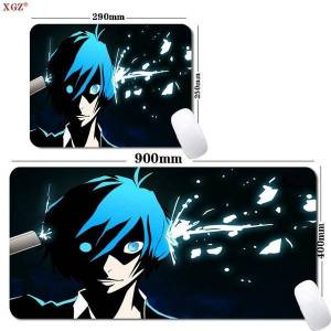 DHgate mouse pads & wrist rests xgz anime cool boy gaming pad csgo accessories table mat large rubber non-slip 400x900mm 300x800mm des
