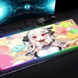 DHgate mouse pads & wrist rests xgz anime sweet loli candy hd custom large rgb pad black lock edge computer desk mat rubber non-slip 900x400 / 800x