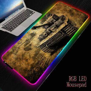 DHgate mouse pads & wrist rests xgz world of tanks rgb led illumination large thicken pad gamer mause carpet 900x400 /300x800mm keyboard desk mat f