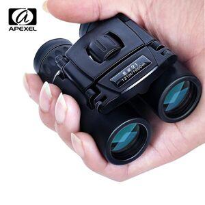 DHgate apexel 8x21 compact zoom binoculars long range 1000m folding hd powerful mini telescope bak4 fmc optics hunting sports camping