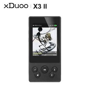 DHgate xduoo x3ii x3 ii ak4490 usb dac bluetooth portable hd lossless mp3/wav/ flac music player dsd128 hiby link in-line control