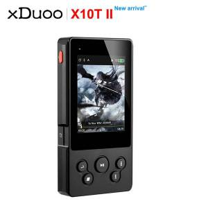 DHgate xduoo x10t ii bluetooth hifi digital turntable music player mp3 support dsd256 pcm 384hkz/32bit optocal/coaxial/aex/usb output