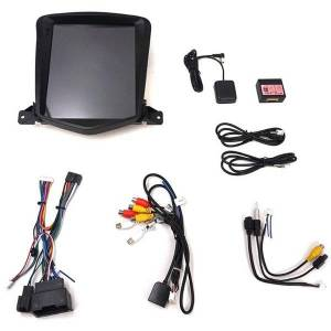 DHgate 10.4 inch android 8.1 octa core car gps for chevrolet cruze 2006-2014 no dvd with stereo auto radio audio head unit dab