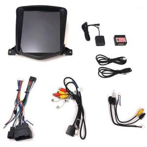 DHgate 10.4 inch android 8.1 octa core car gps for chevrolet cruze 2006-2014 no dvd with stereo auto radio audio head unit dab1
