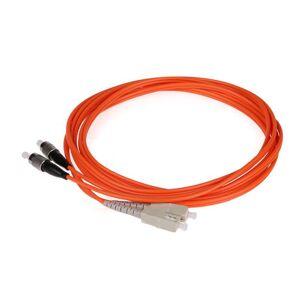 DHgate 50pair fiber optic patch cord fc sc pc upc multimode duplex mm om1 62.5/125 dx 1 3 5 10 20 100m meter ftth wholesale custom made