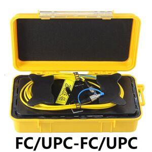 DHgate otdr launch cable fc/upc-fc/upc fiber box 500m 1km 2km otdr dead zone eliminator singlemode 9/125um g652d