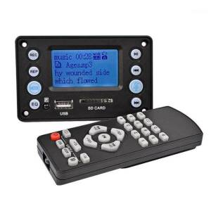 DHgate dc 5v 4.0 bluetooth mp3 decoder board audio module usb sd wav wma fm remote1