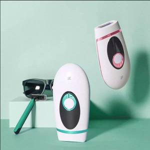 DHgate inface ipl electric epilator laser hair remover 900000 flash lcd display remover permanent painless whole body hair removal