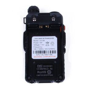 DHgate 2021 professional uv-5r walkie talkie uv-5r dual band handheld radio fcc allow frequency 144-148mhz/420-450mhz walkie talkie