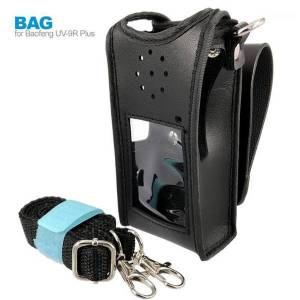 DHgate leather case cover bag for baofeng uv-9r plus bf-a58 bf-9700 gt-3wp uv-xr uv-5s uv 9r walkie talkie accessories1