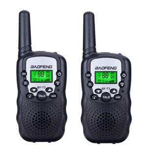 DHgate walkie talkie 2pcs mini children's bf-t3 long range max 5km 2 way ham radio interphone child gift toy