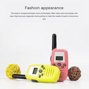 DHgate handheld children's toy voice walkie-talkie 22 channel 3 km parent-child two-way radio1