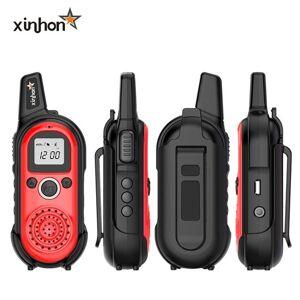 DHgate walkie talkie mini two way radio 1-5km handheld pocket smallest baby child bike el restaurant sports n4 for kids